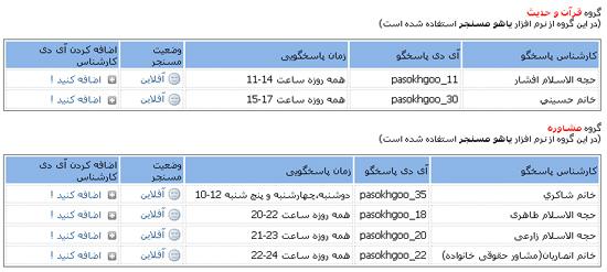 .:::: معرفی سایت پاسخگویی آنلاین ( پاسخ به سؤالات و شبهات دینی ) ::::.