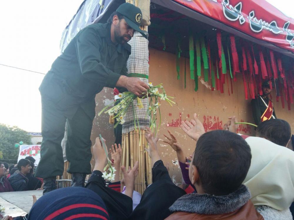 دیدار با شهدای گمنام در استان فارس