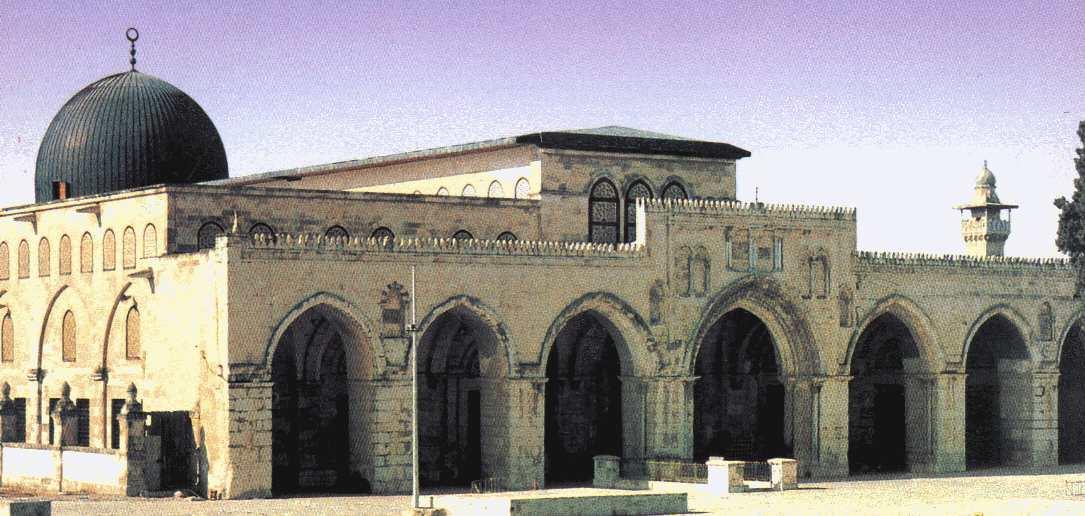 مسجد الاقصی حقیقی کدام است؟ +عکس