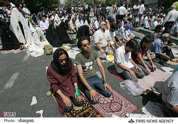 عکس تهران زمان